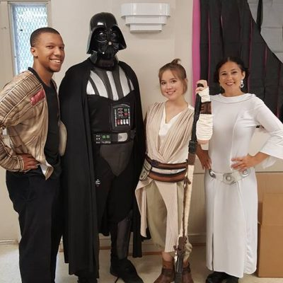Star Wars Party Last Weekend!
