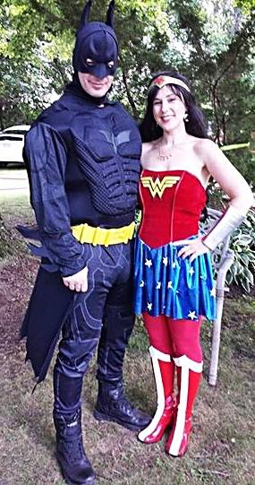 Batman and Wonder Woman Party